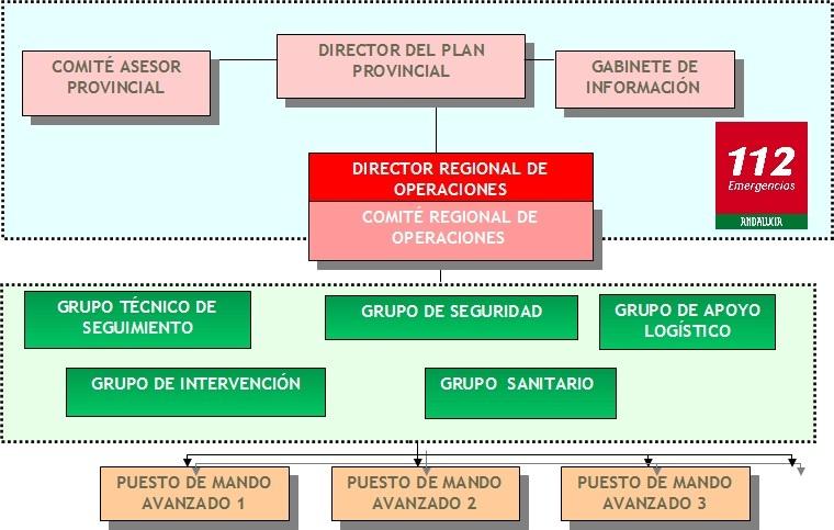 Gráfico estructura organizativa