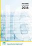 Agencia de Servicios Sociales y Dependencia de Andalucía- Informe ejecutivo año 2016