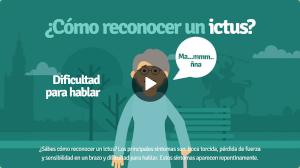 Vídeo Síntomas del Ictus