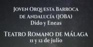 """""""Didos y Eneas"""". Joven Orquesta Barroca de Andalucía (11 y 12 de julio de 2018)"""
