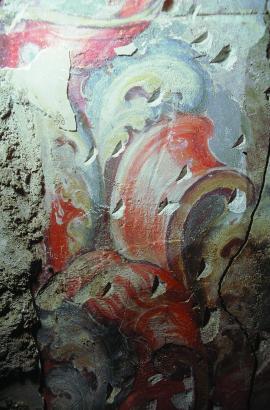 Pinturas murales aparecidas tras el retablo (jpg, 0,73 MB)