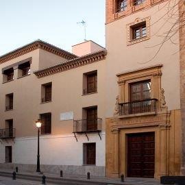 Fachada del Archivo de la Real Chancillería (C/ Pavaneras)