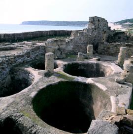 Conjunto Arqueológico de Baelo-Claudia. Balsas