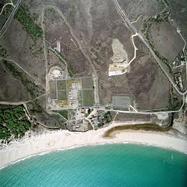Conjunto Arqueológico de Baelo-Claudia. Vista aérea