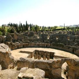 Conjunto Arqueológico de Itálica. Anfiteatro