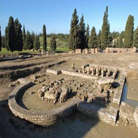 Conjunto Arqueológico de Itálica. Casa