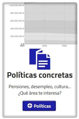 Captura de pantalla de la aplicación ¿Dónde van mis impuestos? 2