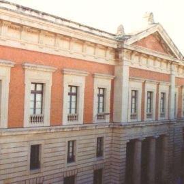 Fachada del Archivo General de Andalucía