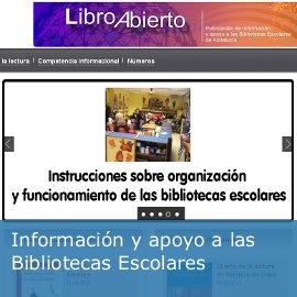 """Información y apoyo a las bibliotecas escolares: """"Libro Abierto"""""""