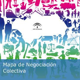 Mapa de negociación colectiva en Andalucía