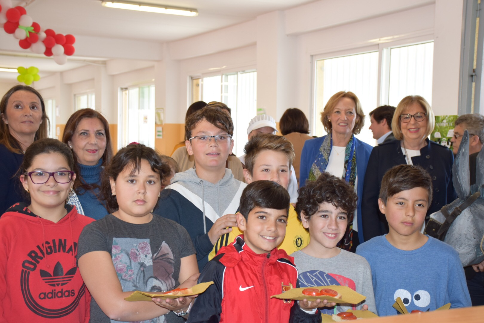 Junta de andaluc a la junta sirve este curso m s de tres millones de productos ecol gicos en - Comedores escolares malaga ...