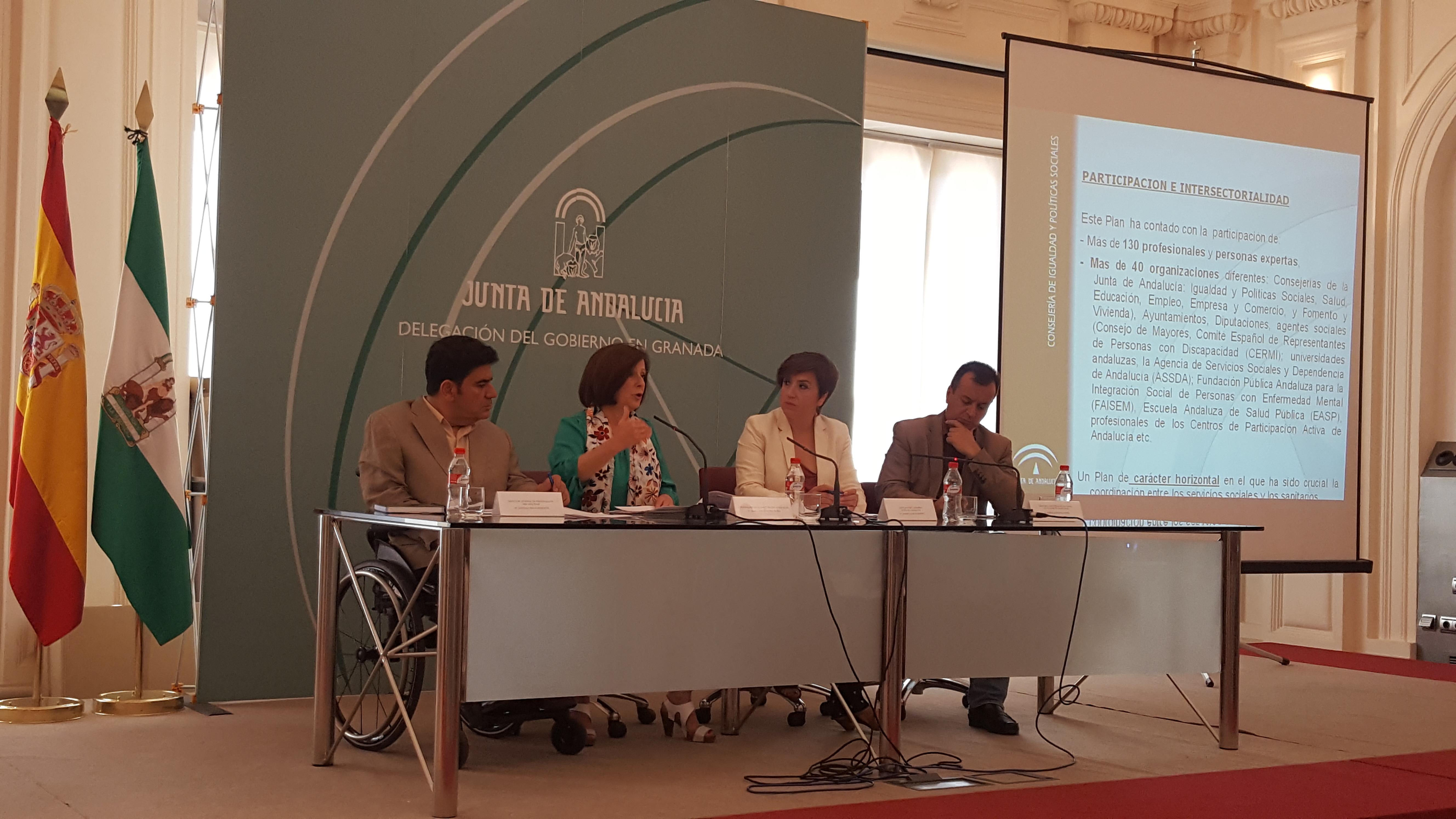 Sánchez Rubio informa de las medidas que la Junta desarrolla para fomentar la pr