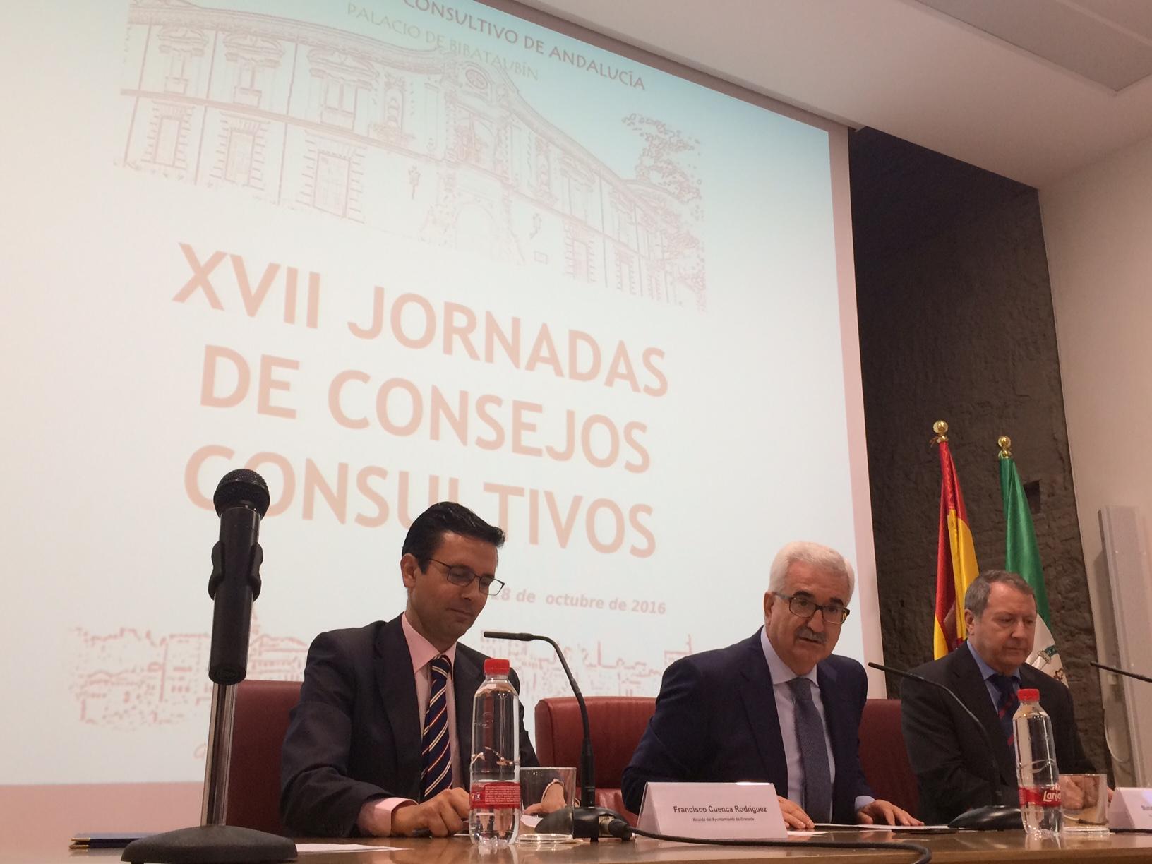 Inauguración de las jornadas del Consejo Consultivo.