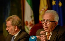 Sánchez Maldonado durante la presentaciónd el Barómetro