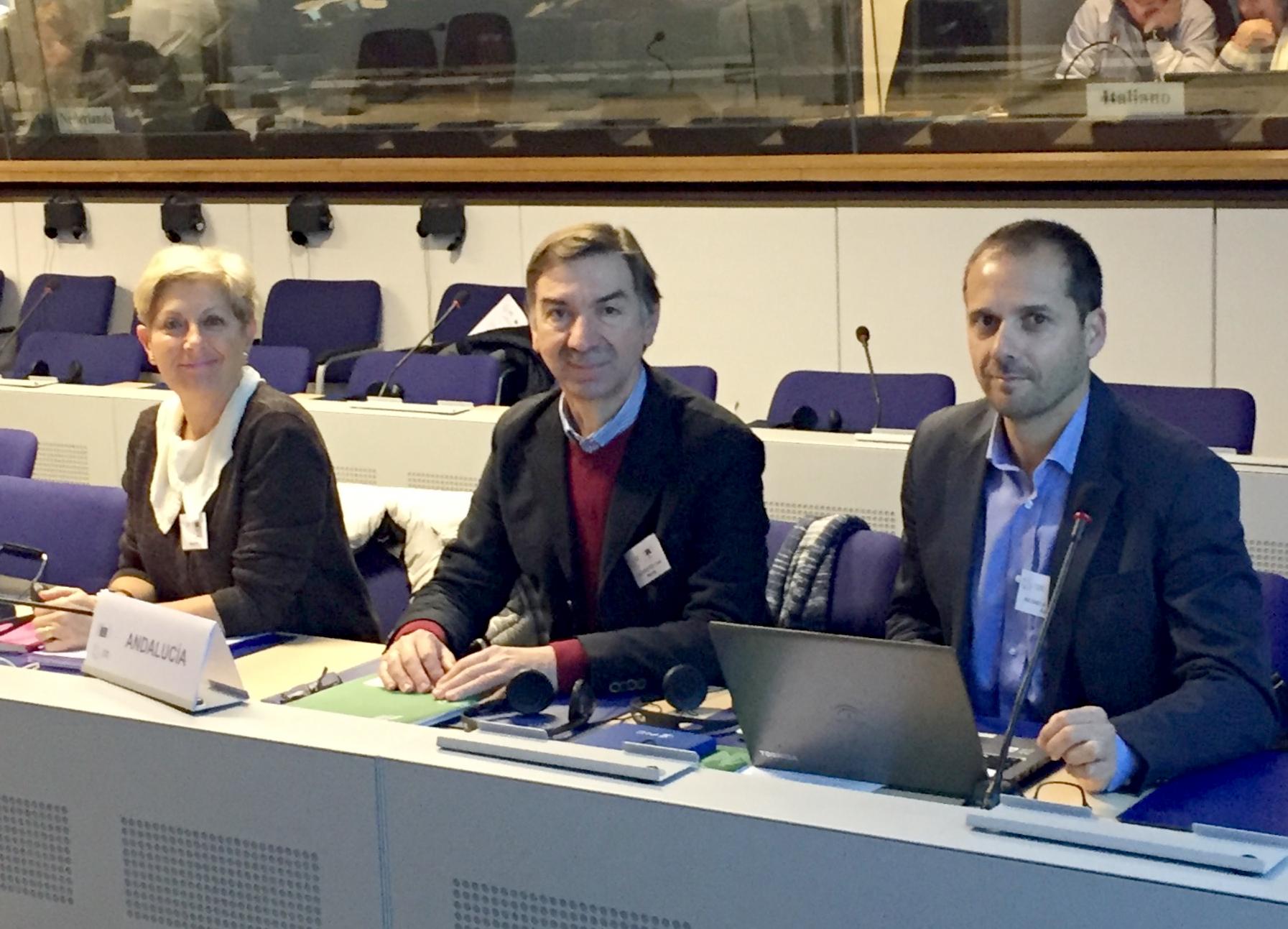 Andalucía expone en Bruselas sus reivindicaciones sobre la implantación del Fondo Europeo Marítimo de la Pesca y la PPC
