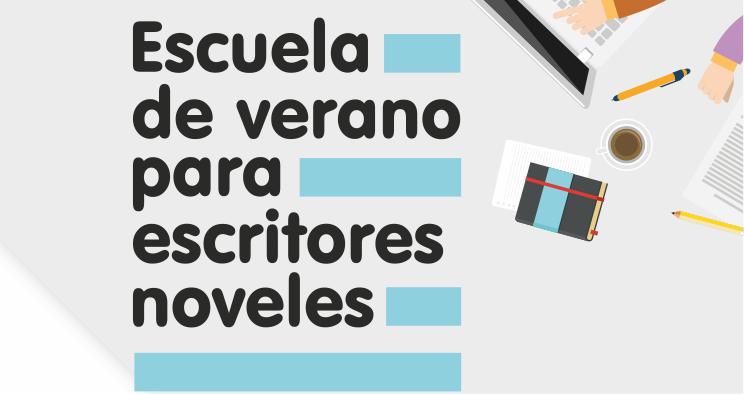 Cartel de la Escuela de Verano para Escritores Noveles del CAL.