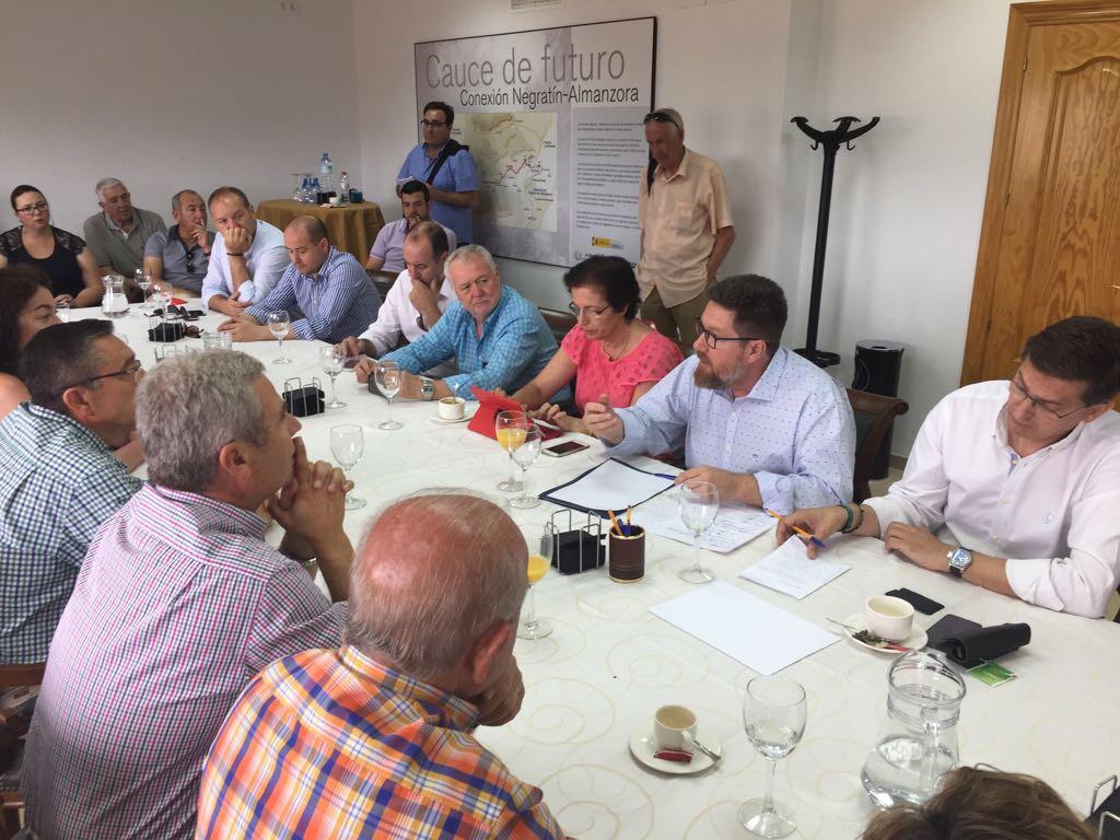 La Junta exige al Gobierno central garantías de que no cortará el agua a 24.000 hectáreas de regadío del Bajo Almanzora