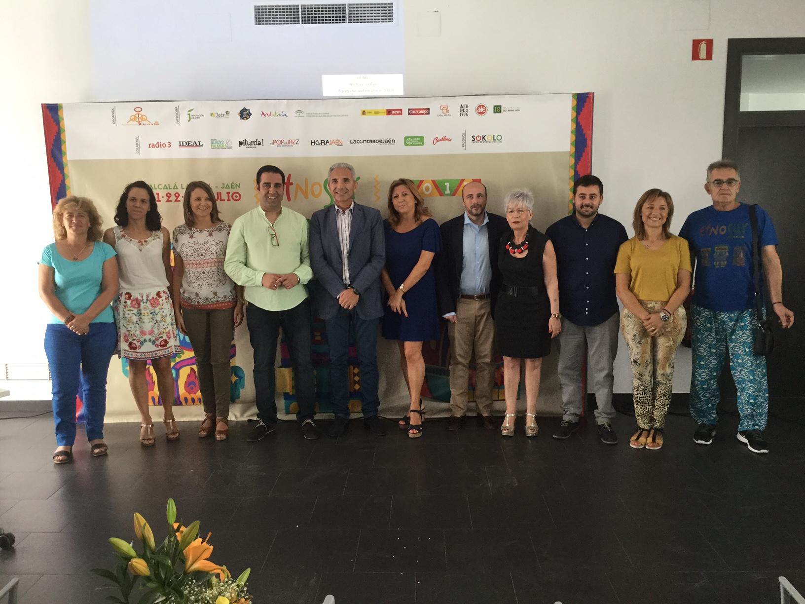 El consejero de Cultura participa en la inauguración de ETNOSUR 2017