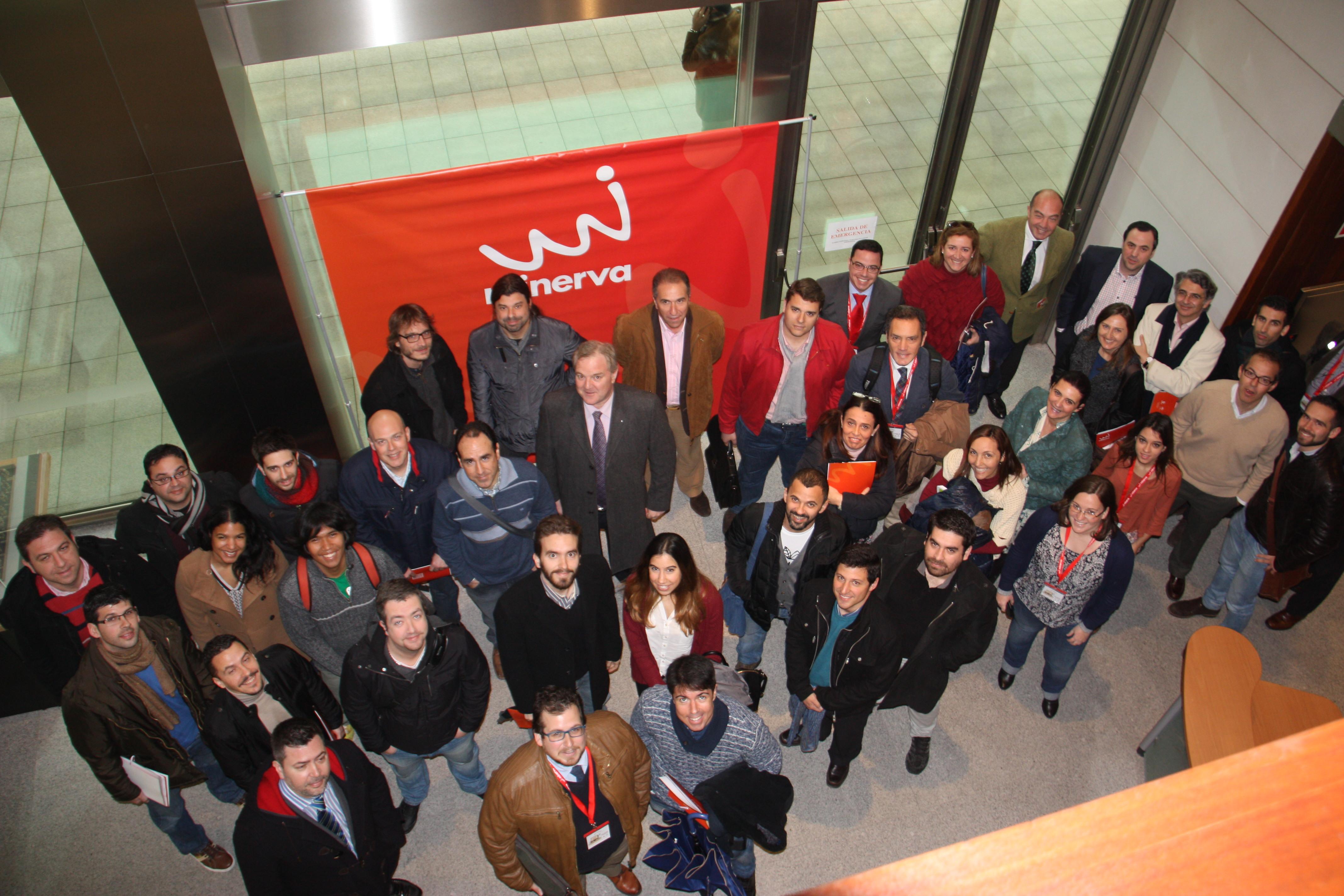 Empresas y Emprendedores del Programa Minerva.