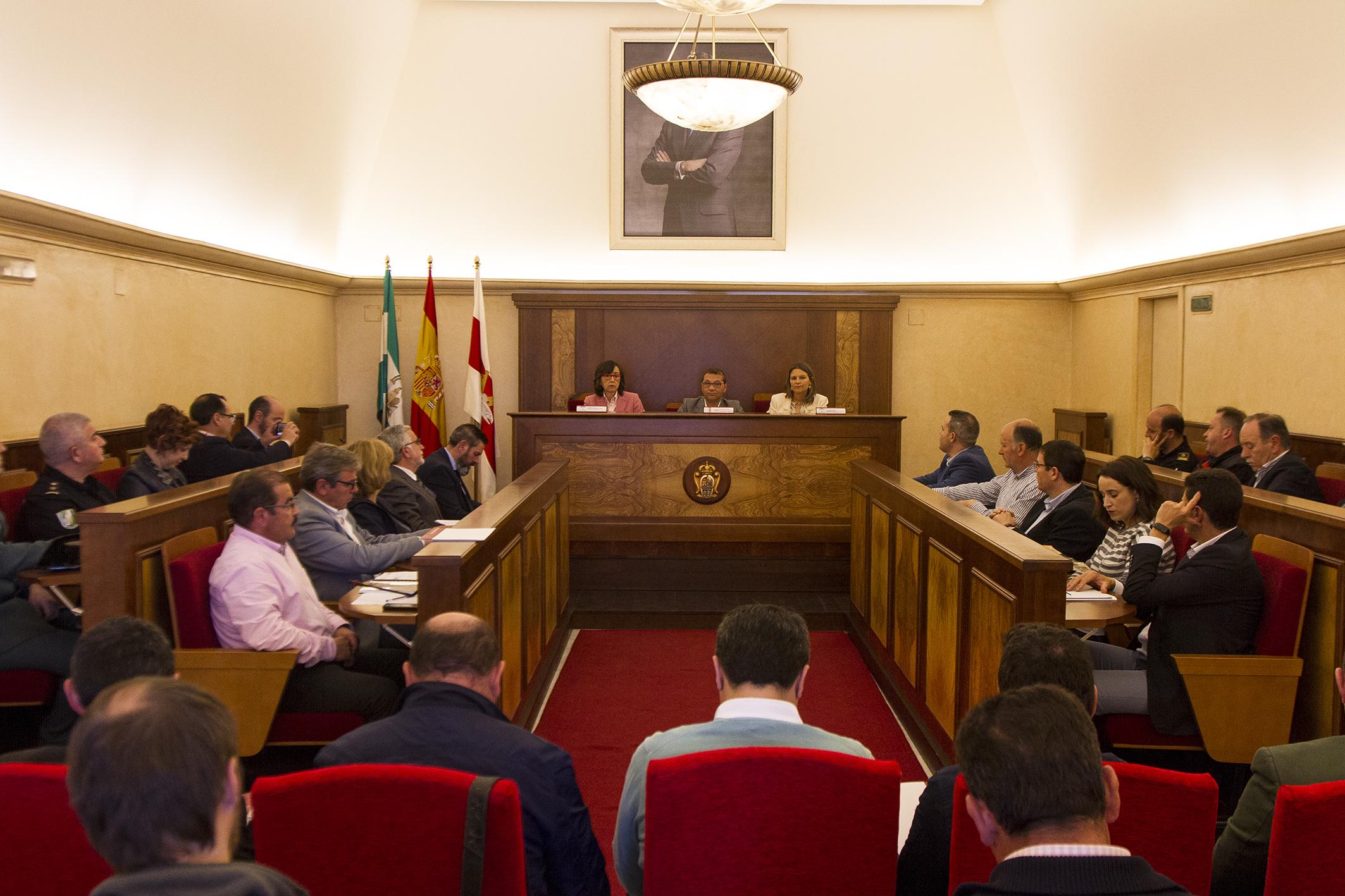 La consejera, en la reunión del Comité Asesor