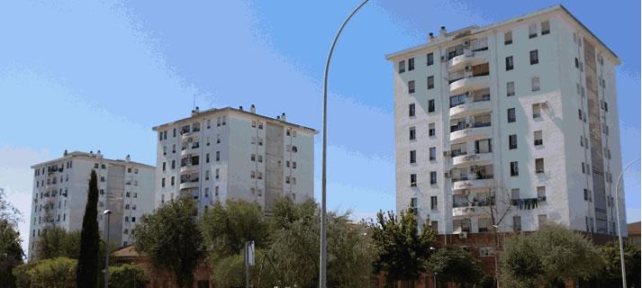 Edificios del parque autonómico de viviendas
