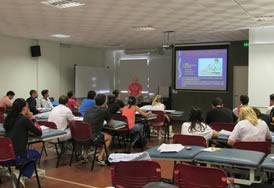 Junta De Andalucia Los 17 Fisioterapeutas Del Distrito