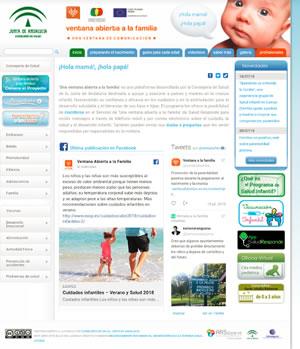 La plataforma 'Ventana abierta a la Familia' envía más de 1,2 millones de consejos sobre crianza saludable durante 5 años de funcionamiento