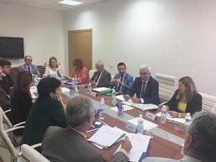 El vicepresidente en la reunión celebrada en Cádiz.