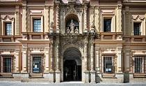 En la imagen, la entrada del Museo de Bellas Artes de Sevilla