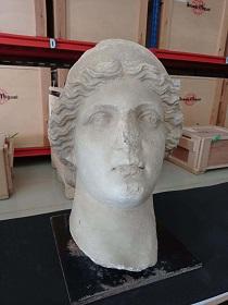 En la imagen, una de las piezas adquiridas para ampliar la colección del Museo Arqueológico de Sevilla
