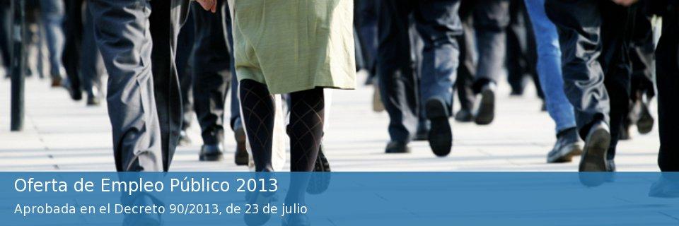 Oferta de Empleo Público 2013