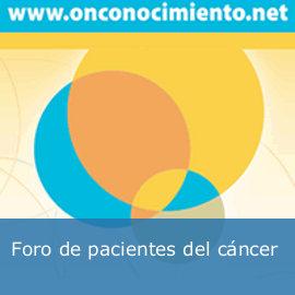 Foro de pacientes con cáncer