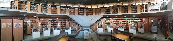 Panoramica Biblioteca CAGPDS, sede Calle Tabladilla