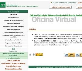 Los andaluces han consultado el resumen de su historia clínica desde Clic Salud