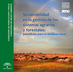 Portada de Sostenibilidad en la gestión de los sistemas agrarios y forestales: beneficios para la biodiversidad