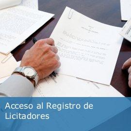 Registro de licitadores