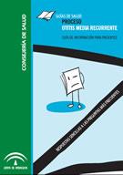 Proceso Otitis Media Recurrente. Guía de Información para Pacientes