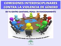 Cartel de Comisiones interdisciplinares