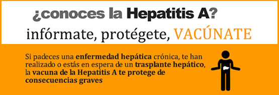 Hepatitis A - vacunas