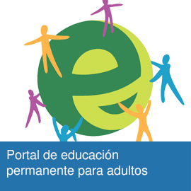 Portal de educación permanente para adultos