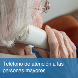 Teléfono de información para personas mayores