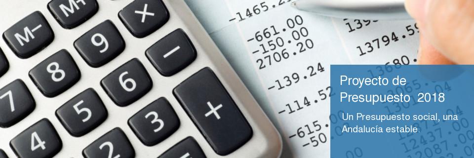 Proyecto Ley Presupuesto para 2018