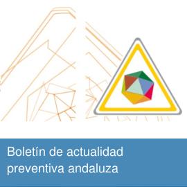Boletín de actualidad preventiva andaluza