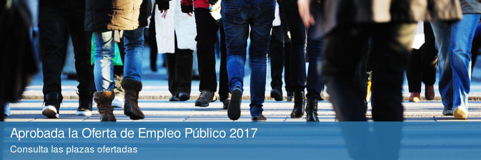 Aprobada la Oferta de Empleo Público 2017
