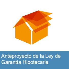 Accede al anteproyecto de Ley Hipotecaria