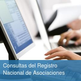Consultas del Registro Nacional de Asociaciones