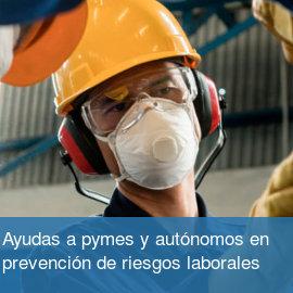 Subvencion PYMES y Autónomos en PRL