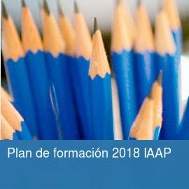 Plan de formación 2018 IAAP