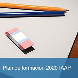Plan de formación 2020 IAAP