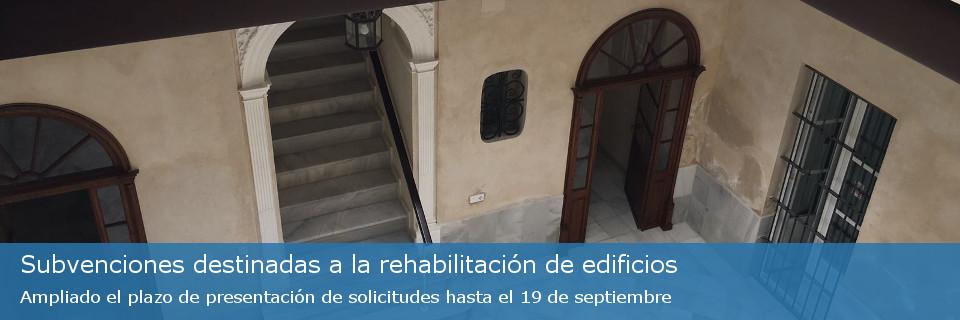 Subvenciones destinadas a la rehabilitación de edificios